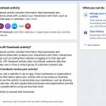 Off Facebook activity Facebook ve kaj pocnete tudi v resnicnem zivljenju