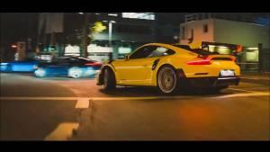 "Porsche ""The Heist"" Porsche Taycan Gramatik AYMO Super Bowl Commercial"