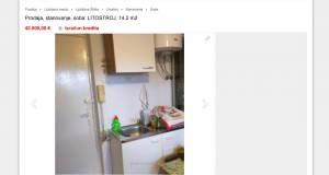 Prodaja nepremicnine v Ljubljani soba 117 m2 za 42.000 evrov