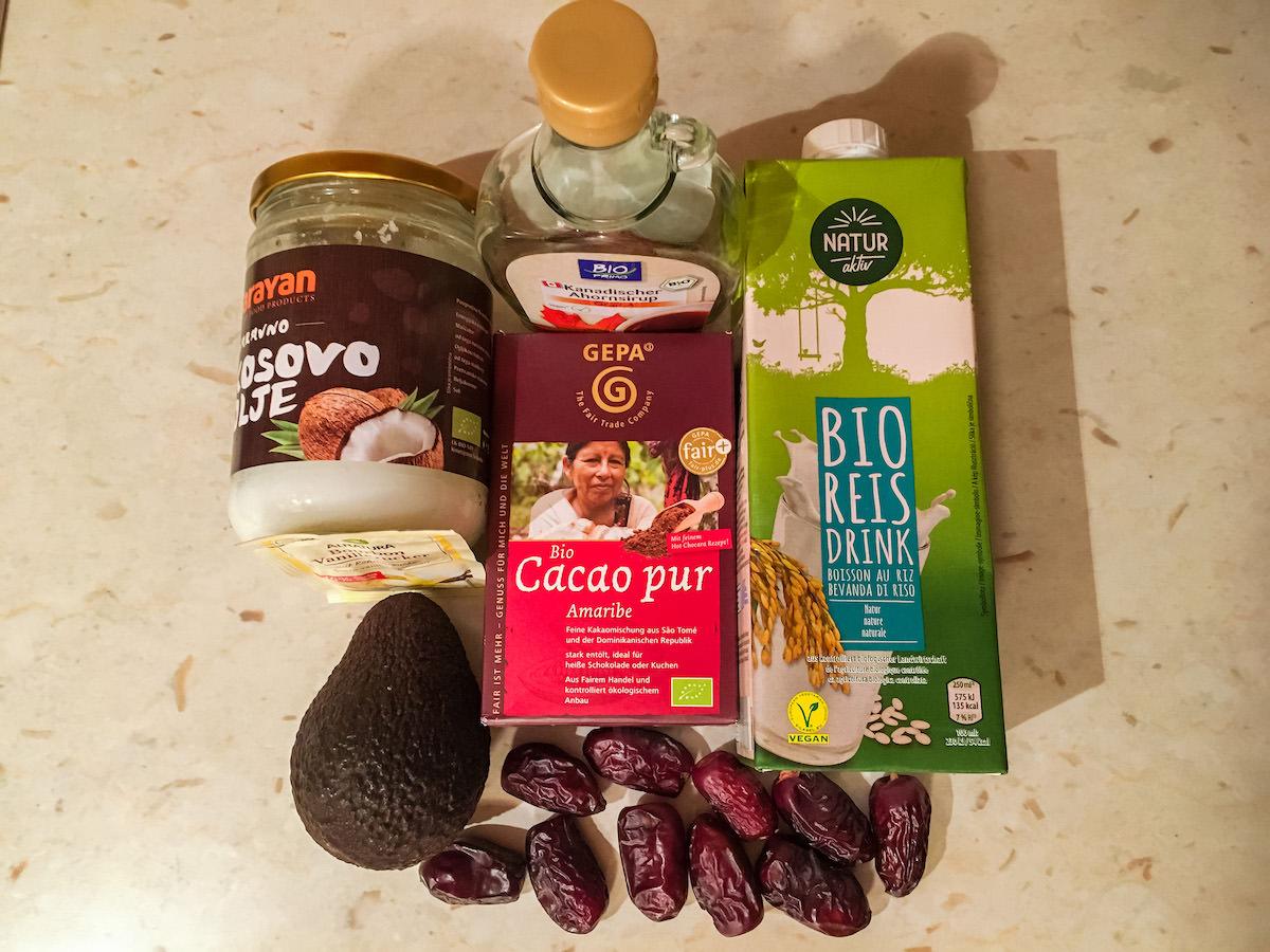 Recept veganski cokoladni 22puding22 12