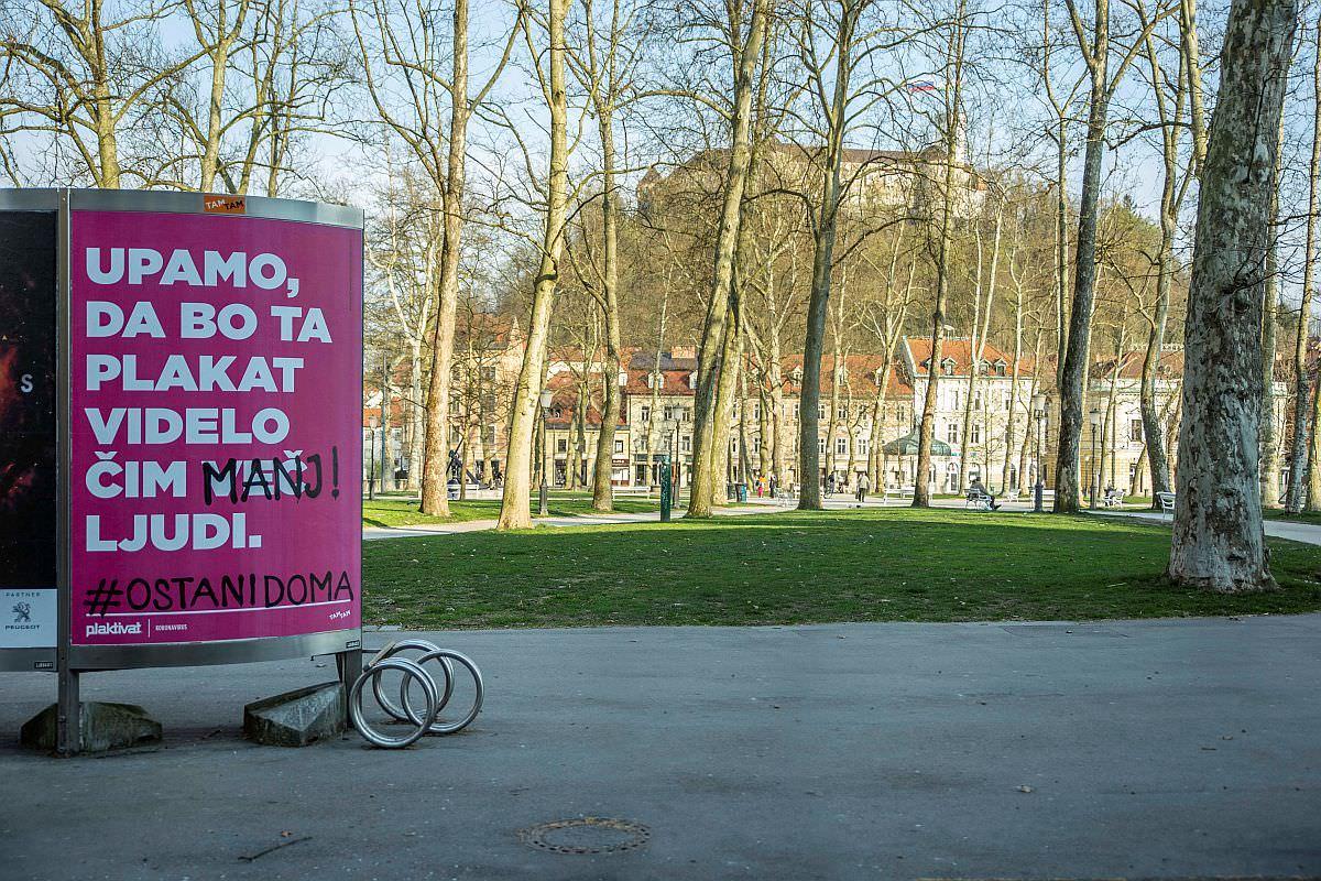 Avtorji plakata Blaž Ritmanič Formitas BBDO Mitja Petrovič Ana Ivandić Innovatif Foto Asiana Jurca Avci