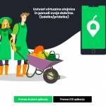 Aplikacija OdDoma kreiranje virtualne stojnice