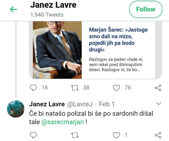 Janez Lavre je bil pod velikim psihičnim pritiskom 1
