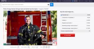 SDS se na billboardih zahvaljuje z gasilcem v ruski uniformi