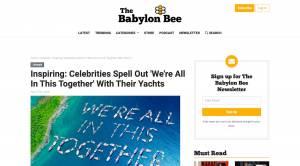 Nova24 in The Babylon Bee 2