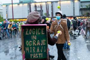 Protesti Ljubljana 15 maj 1