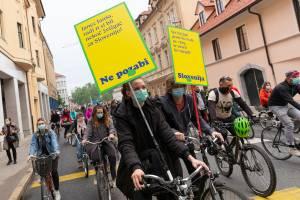 Protesti Ljubljana 15 maj 16