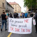 Protesti Ljubljana 15 maj 19