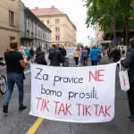 Protesti Ljubljana 15 maj 19