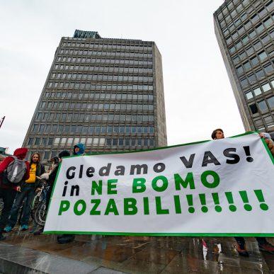 Protesti Ljubljana 15 maj 24
