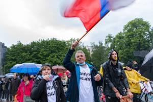 Protesti Ljubljana 15 maj 25