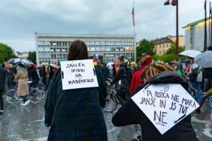 Protesti Ljubljana 15 maj 26