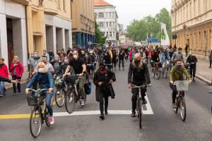 Protesti Ljubljana 15 maj 7