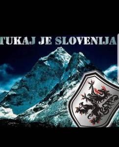 Tukaj je Slovenija Mount Everest