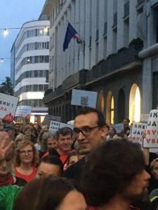 Protesti v LJubljani 1