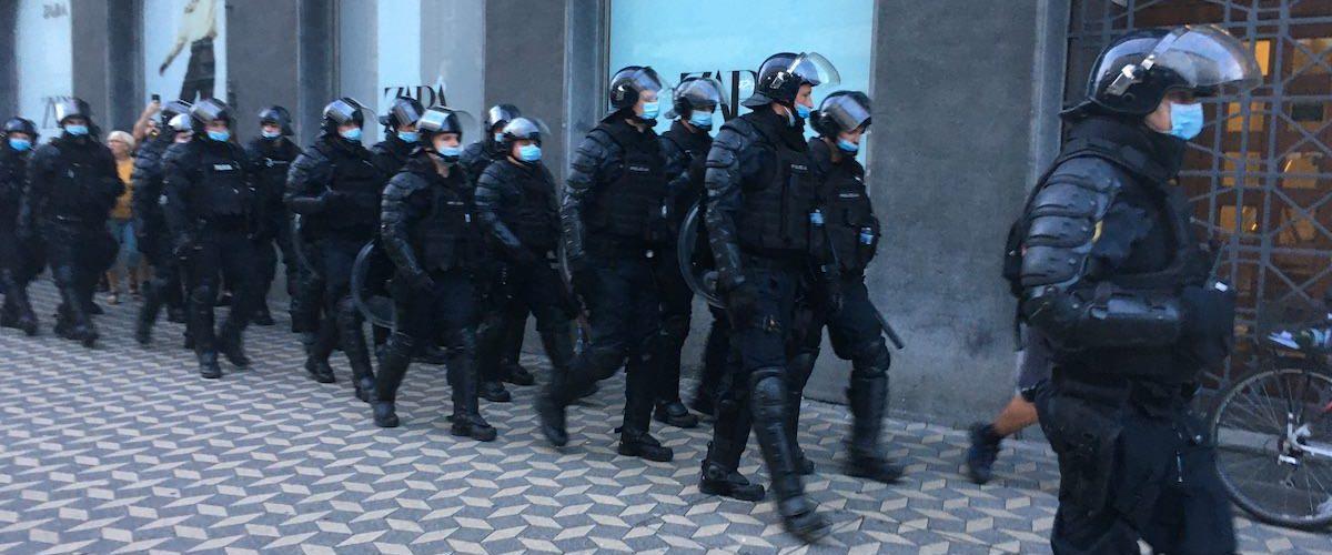 Protesti v LJubljani 2