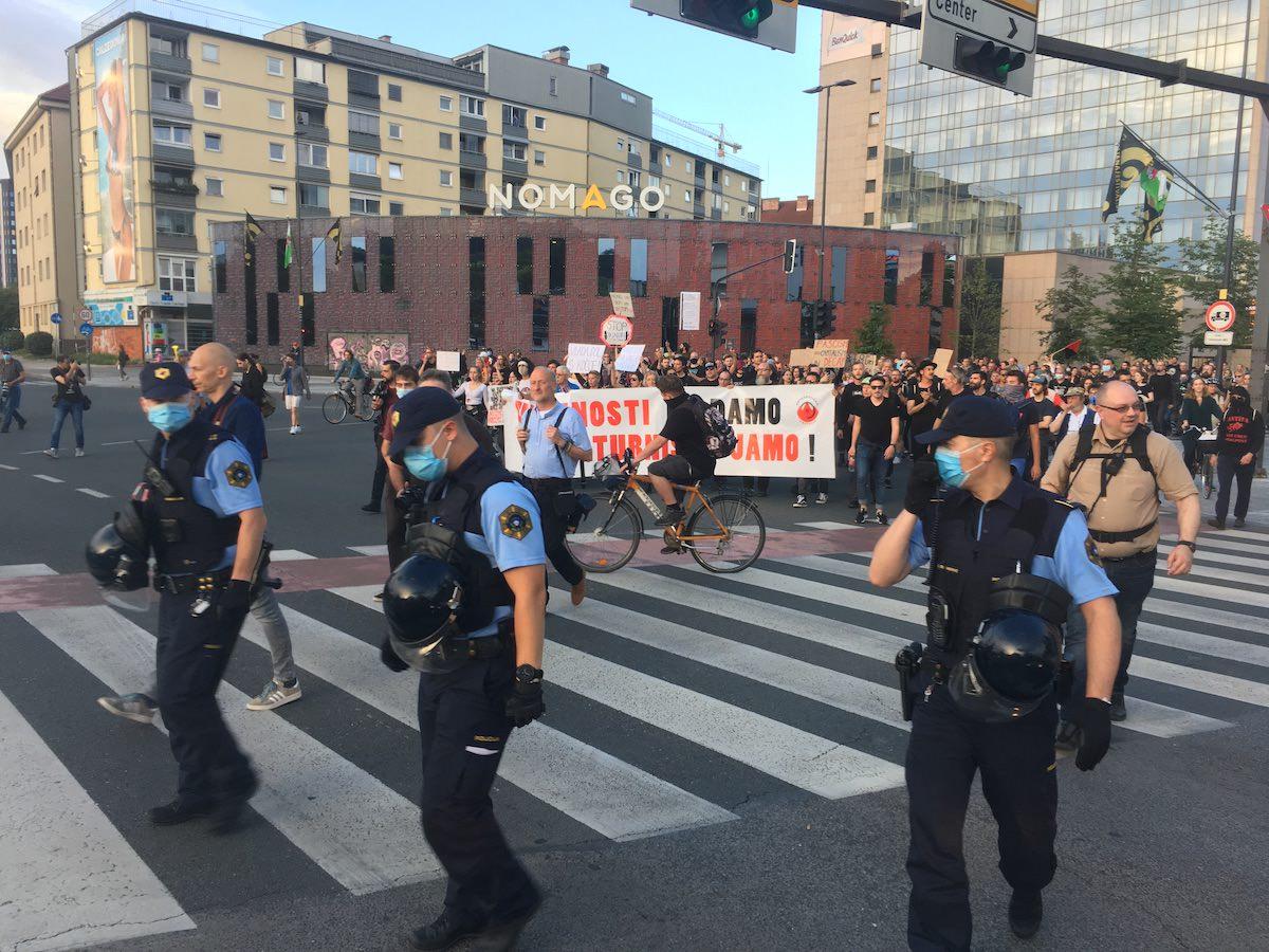 Protesti v LJubljani 4