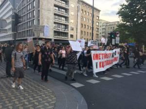 Protesti v LJubljani 5