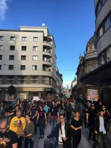 Protesti v LJubljani 9