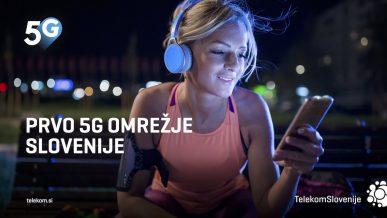 Prvo 5G omrezje Slovenije
