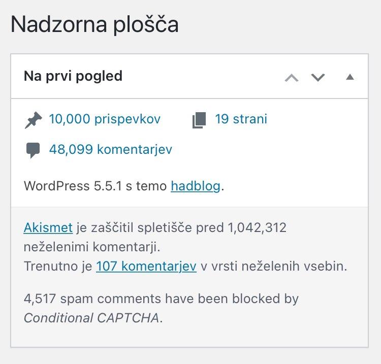 10000 objav