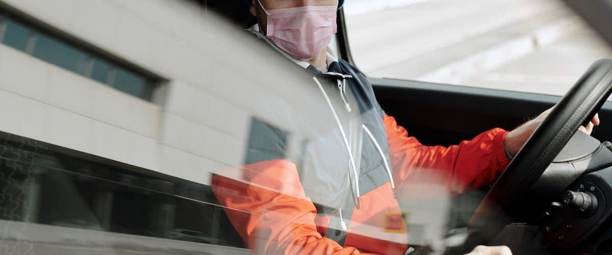 obvezna maska v vozilih