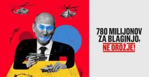 ZA referendum o 780.000.000 evrov vredni investiciji v orozje