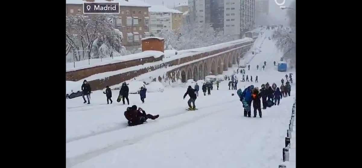 sneg madrid