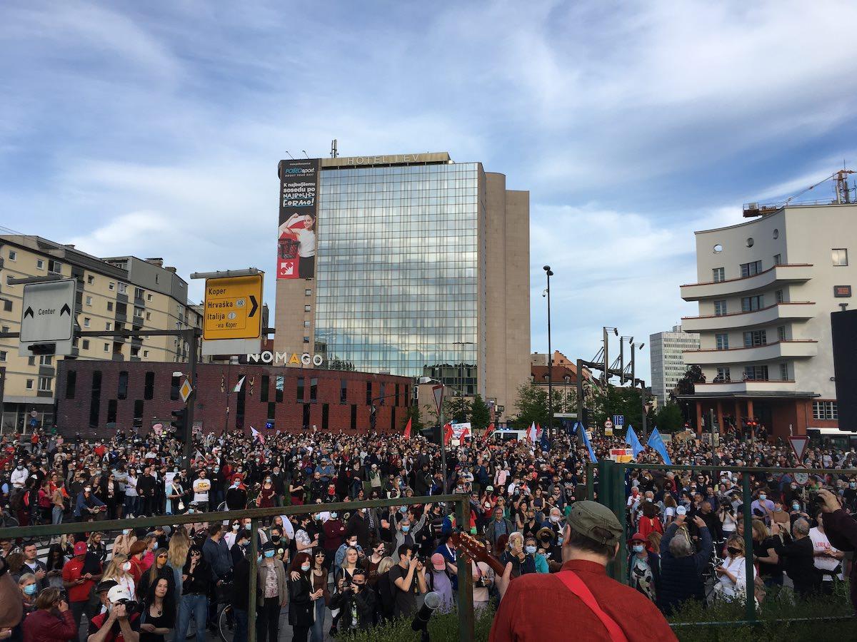 protesti 28 maj 2021 ljubljana 7
