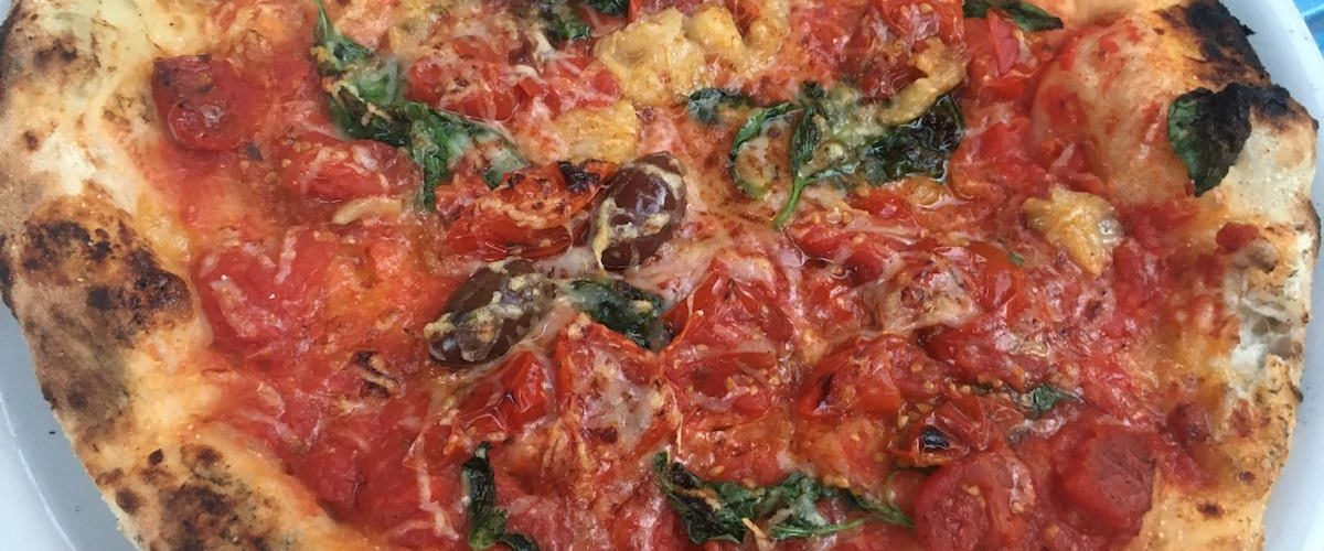 Gostilnica 5 6 kg na Eipprovi marinara je pizza brez sira in pika had testira pizze