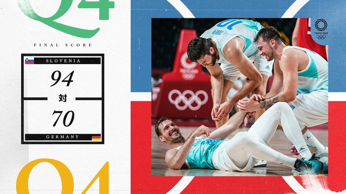 slovenia nemcija olimpijske igre doncic dragic