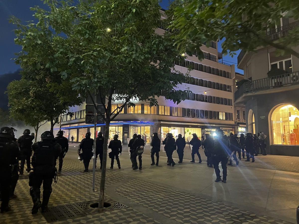 policijsko nasilje protesti ljubljana 4