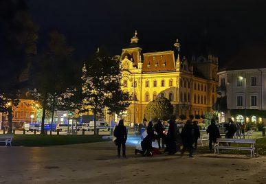 policijsko nasilje protesti ljubljana 6