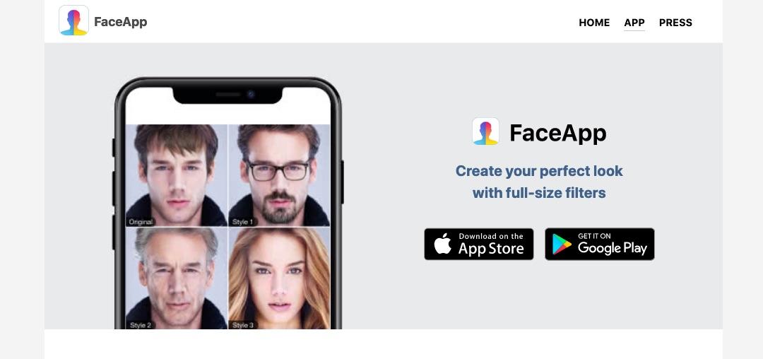 FaceApp aplikacija vas postara s pomocjo AI previdno pri njeni uporabi